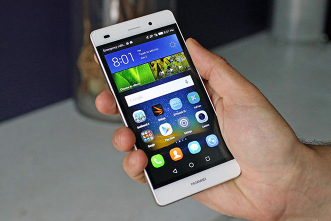 image for Huawei's P8 Lite looks like a solid work phone at a good price. / Credit: Laptop Mag