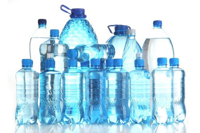 water bottles, recycling, reusing