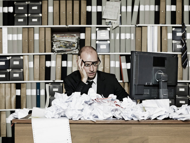 image for Messy desk image via  Shutterstock