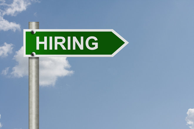 image for Hiring sign image via  Shutterstock