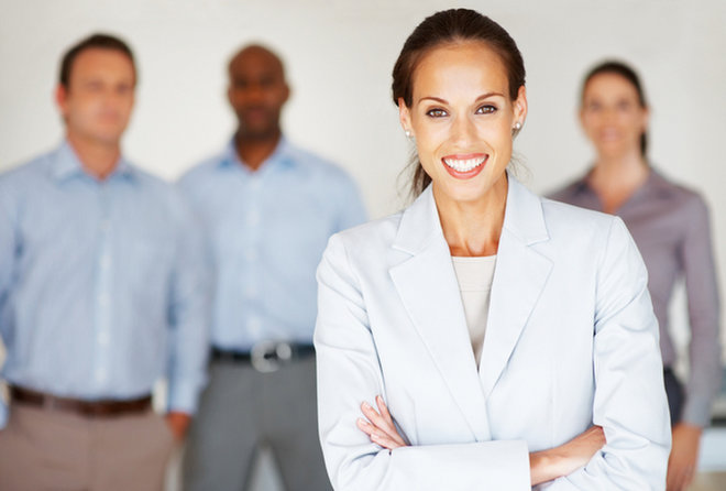 image for Female executive image via  Shutterstock