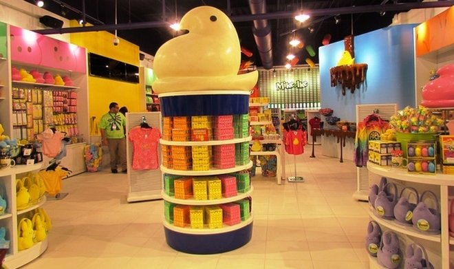 image for Peeps retail store in Bethlehem, Pa. / Credit: Just Born Candy
