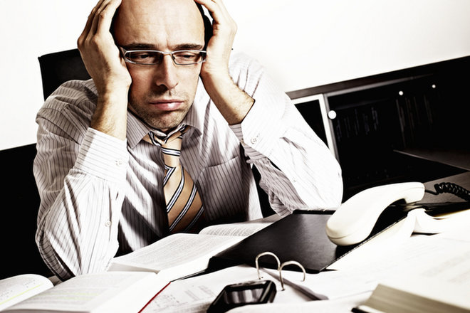 Men Stressed Most by Work, Women by Life