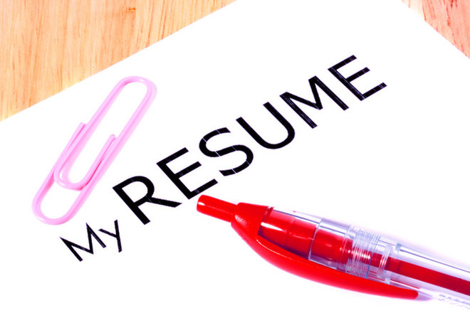 image for Resume image via Shutterstock