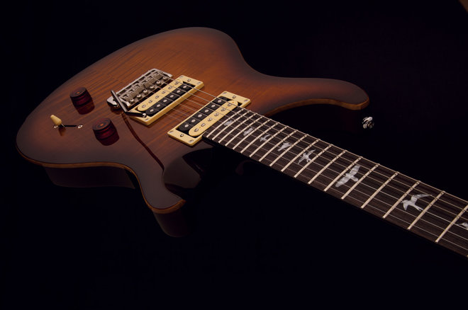top guitar colors of 2013, tobacco sunburst, PRS