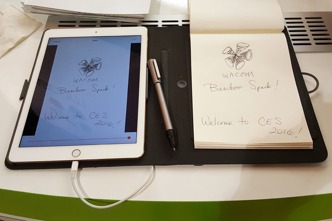 Wacom Bamboo Spark, business technology