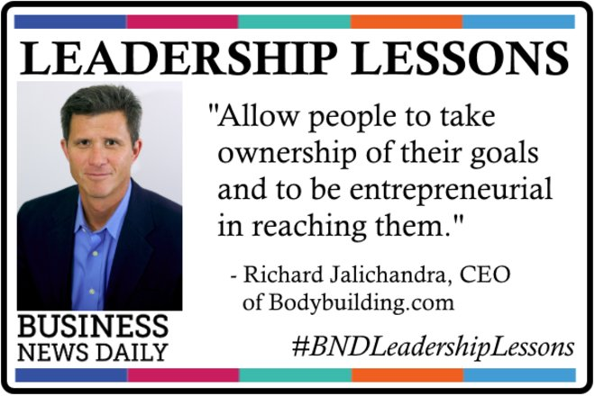 Leadership Lessons: Let People Take Ownership of Their Goals