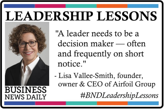 Leadership Lessons: 'Decision Maker' is Your Most Important Role