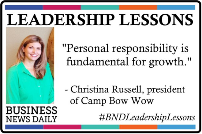 Leadership Lessons: Personal Responsibility Leads to Growth