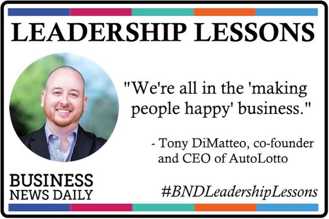 Leadership Lessons: Make People Happy