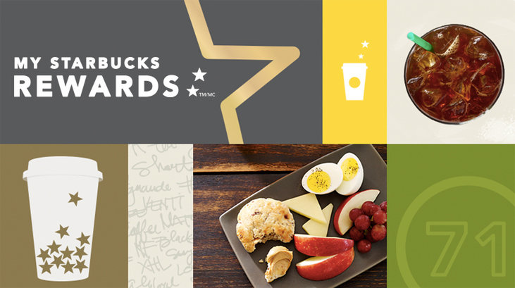 Starbucks Rewards mobile app